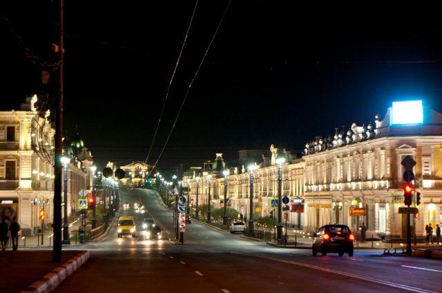 Любинский проспект одна из главных достопримечательностей Омска.