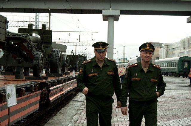 Перед прибытием поезда Победы состоится митинг-концерт.