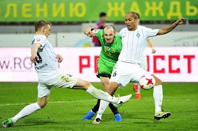 «Крылья Советов» победили «Анжи» в23-м туре премьер-лиги