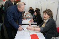 Около 1 800 вакансий от работодателей, консультации специалистов службы занятости и многое другое ждало посетителей ярмарки.