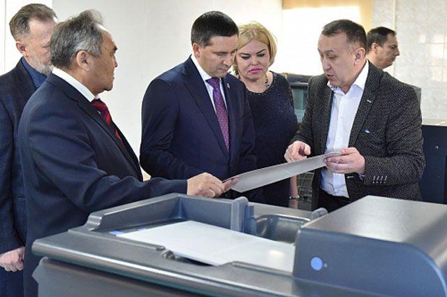 В Салехарде открылся новый полиграфический комплекс.