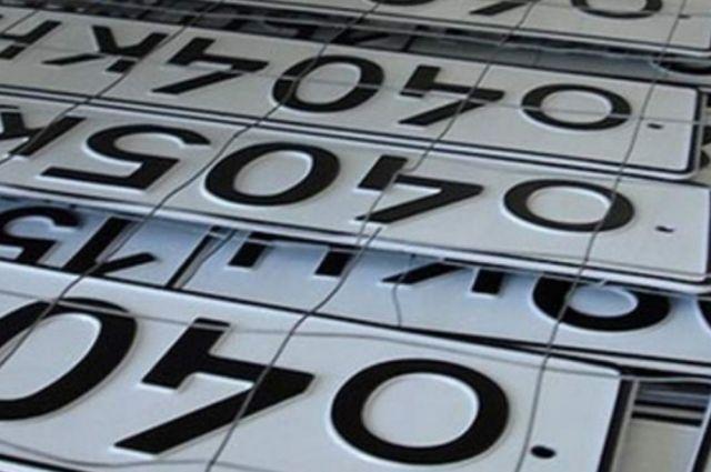 ВКраснодаре задержали похитителей автомобильных номеров