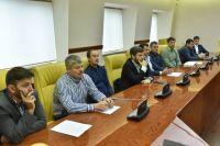 Заседание комитета по пляжному футболу