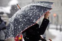Украину накрыли холода и снег