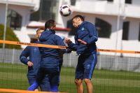 «Динамо» готовится к матчу против «Шахтера»