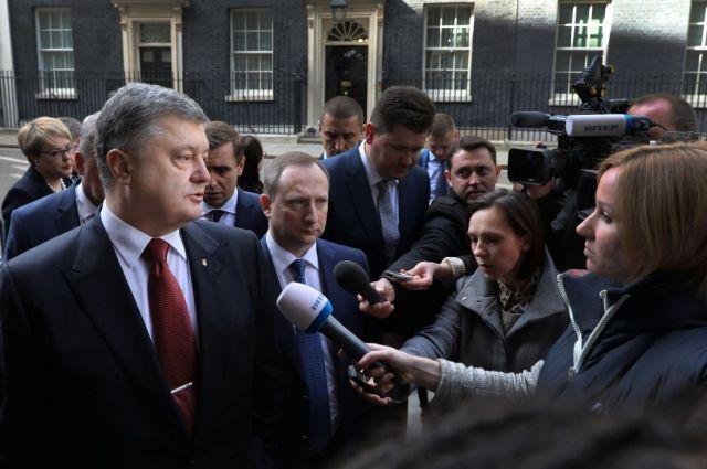 Порошенко считает многообещающим решение суда ООН поиску против Российской Федерации