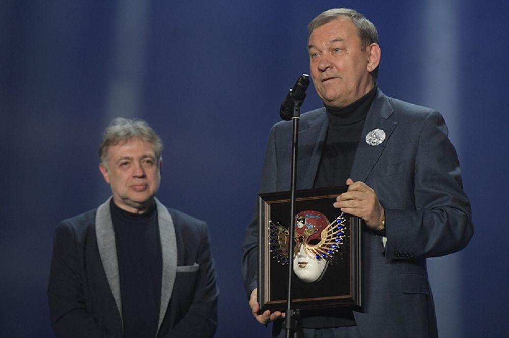 Директор Государственного академического Большого театра России Владимир Урин, получивший награду в номинации «Лучшая Опера/Спектакль» («Роделинда», Большой театр, Москва).