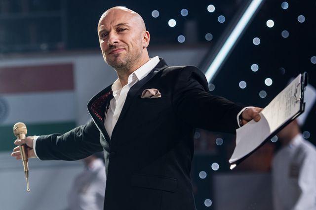 Дмитрий Нагиев на съемках эпизода фильма «Кухня. Последняя битва».