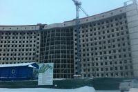 Нижневартовская больница - самый известный долгострой столицы Самотлора.