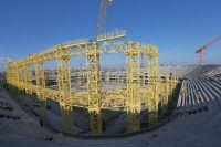 Срок ввода в эксплуатацию стадиона в Калининграде перенесен на 2018 год.