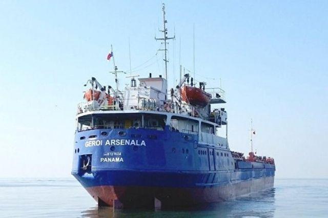 спасатели возобновили поиск экипажа затонувшего сухогруза в Черном море