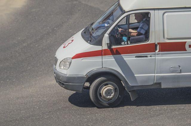 Пятимесячный ребенок получил травму головы встолкновении 2-х  легковых автомобилей  вВолжском