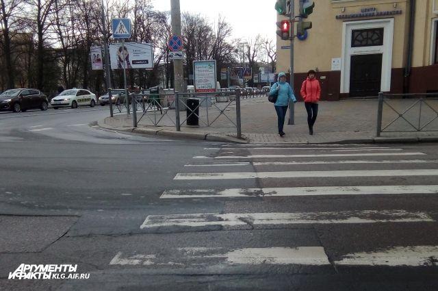 Дорожную разметку на дорогах  Калининграда будут наносить ночами