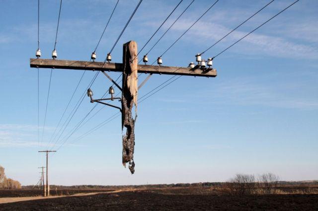 Пензенские села остались без электричества из-за ледяного дождя