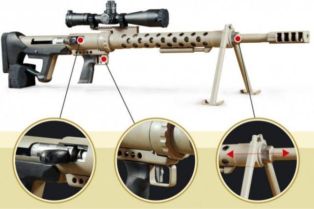 Новая винтовка разработана специально под стандарты НАТО