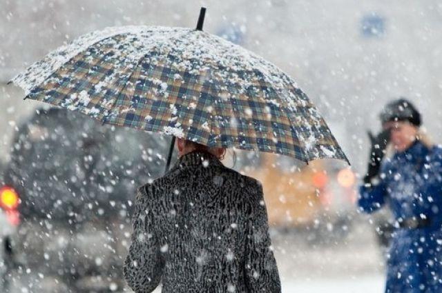 Непогода в Украине продолжается