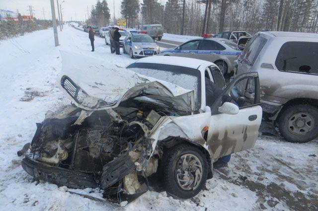 В Ноябрьске в ДТП пострадали три человека.