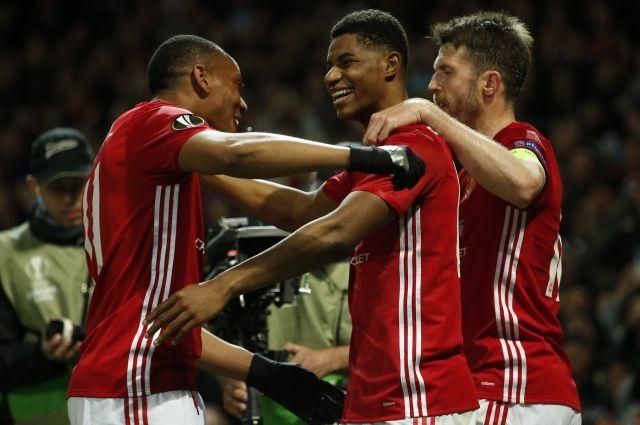 «Манчестер Юнайтед» победил  «Андерлехт» напути вполуфинал Лиги Европы