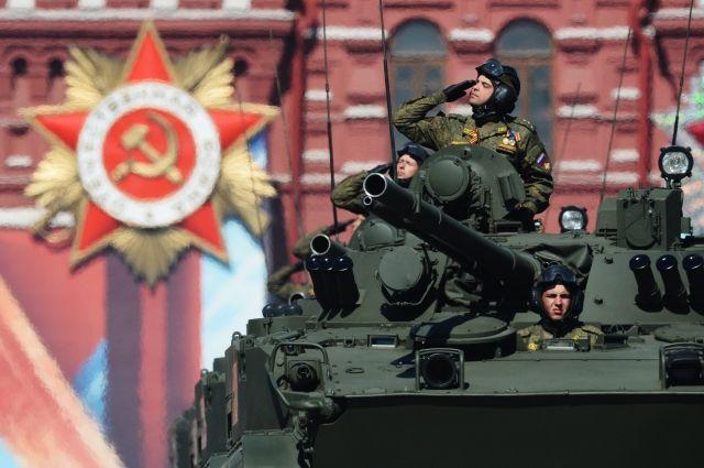 Минобороны Российской Федерации составило карту парадов Победы