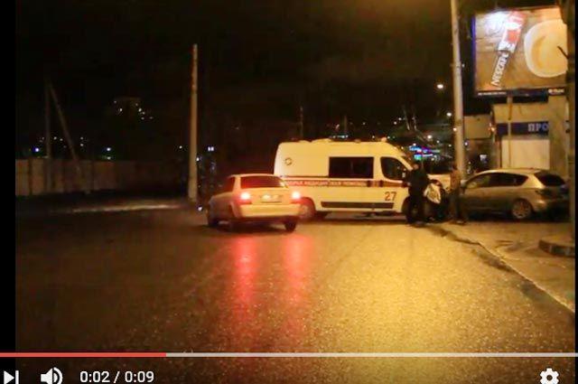ВИркутске карета скорой помощи врезалась в Мазда: пострадал доктор