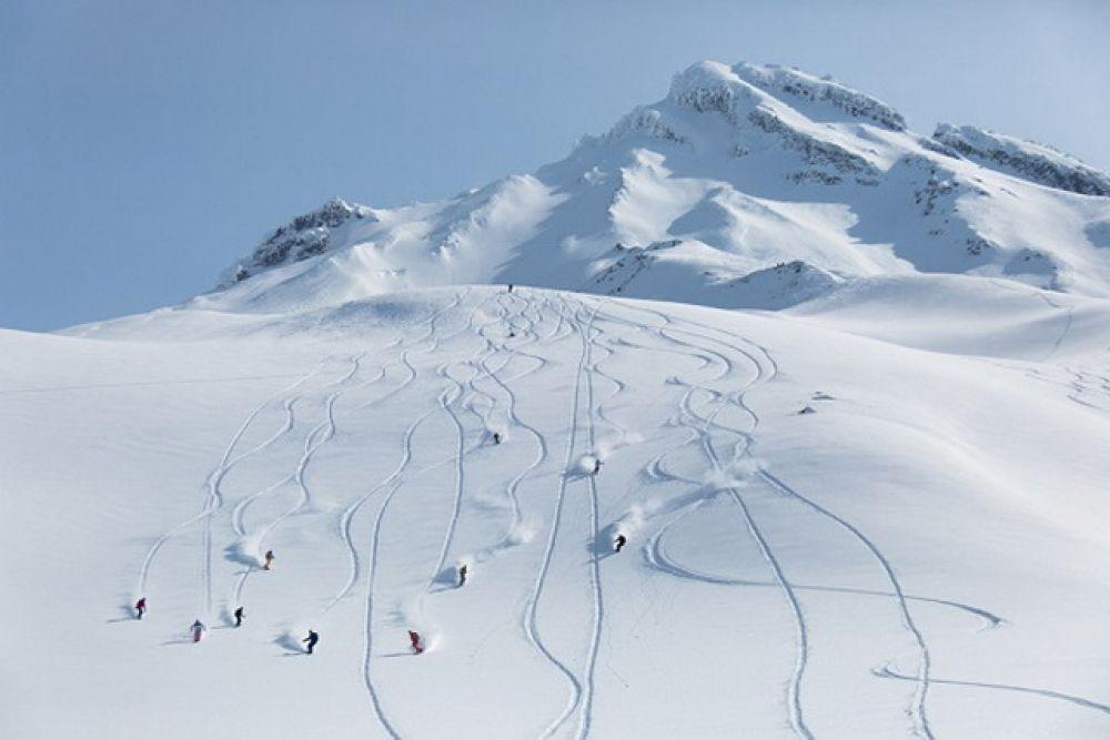 «Хели-ски по-камчатски».