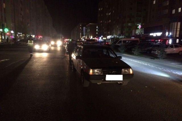Наулице Мира вСтаврополе шофёр «Mercedes» сбил пешехода