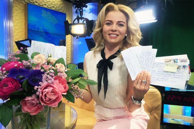 Телеведущая Елена Николаева.