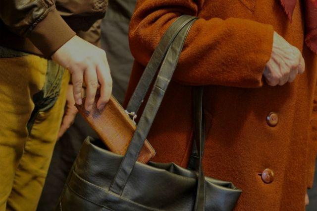 Двух карманников задержали с поличным, у одного из них нашли женский кошелек.