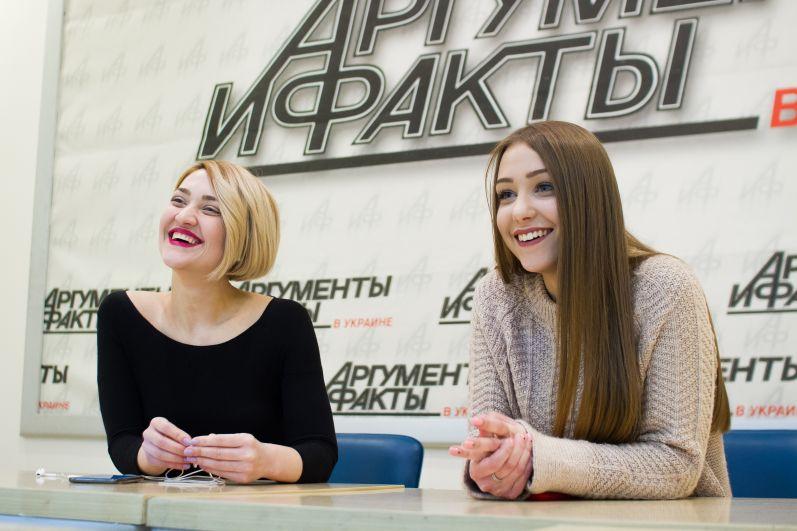 Вера Кекелия и Анна Кукса