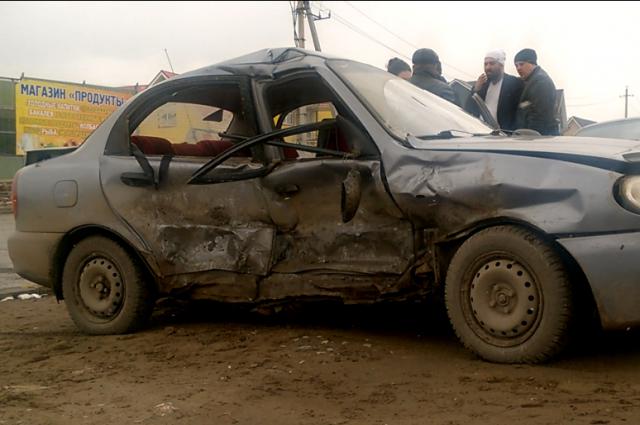 ВПерми при столкновении машин серьёзно пострадали женщина и ребенок