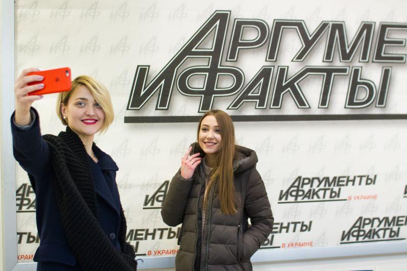 Вера Кекелия и Анна Кукса успели сделать селфи