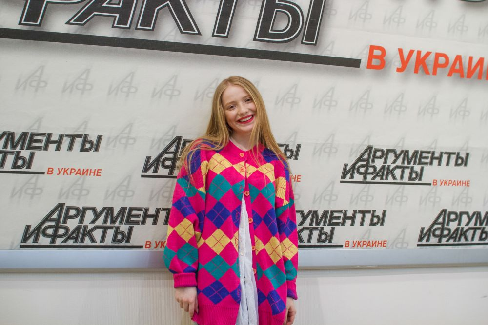 Участница команды Потапа Ингрет Костенко