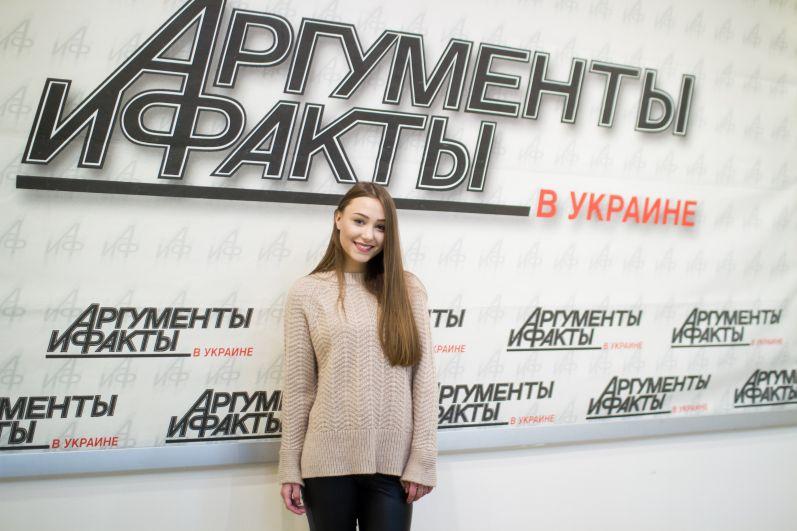 Участница команды Джамалы Анна Кукса