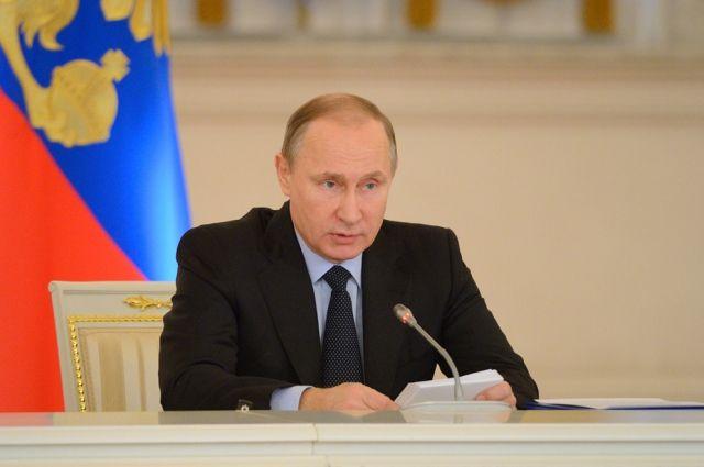 Путин обсудил с членами Совета безопасности теракт в Париже