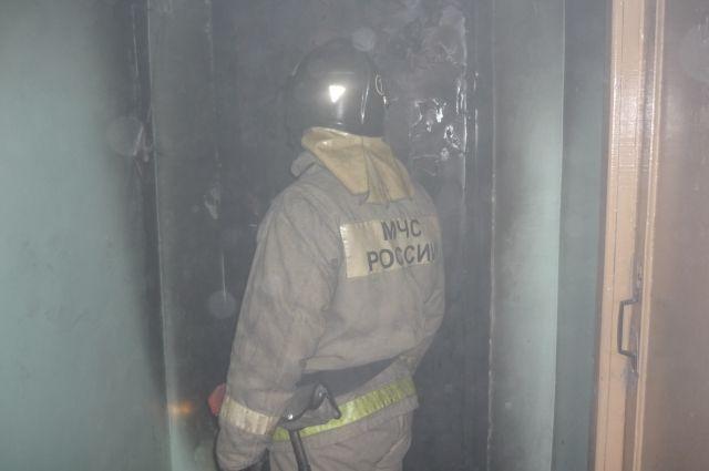 Два человека погибли напожаре вПестречинском районе