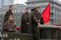 Парад Победы в Челябинске.