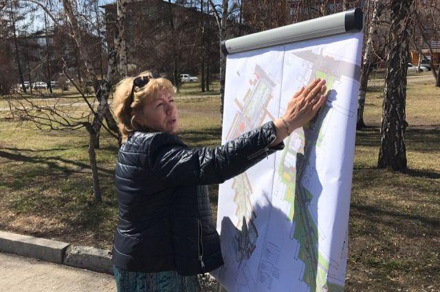Омичи активно подключаются к проекту создания комфортных зон в городе.