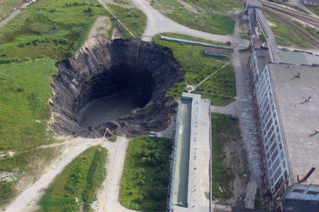 ВБерезниках создалась 2-ая воронка в небезопасной зоне