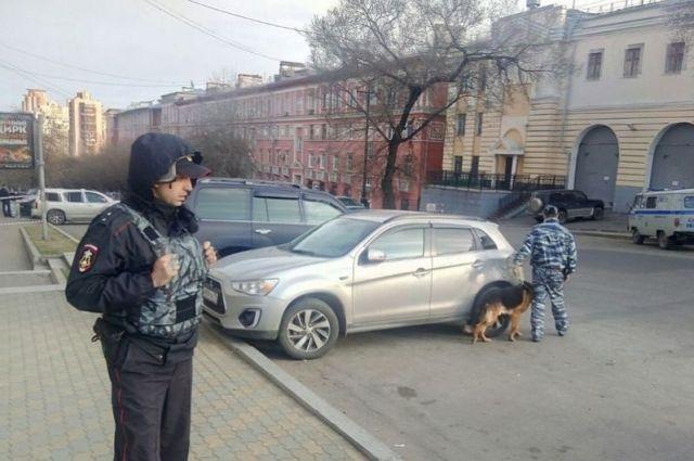 На месте стрельбы дежурят силы полиции, Росгвардии