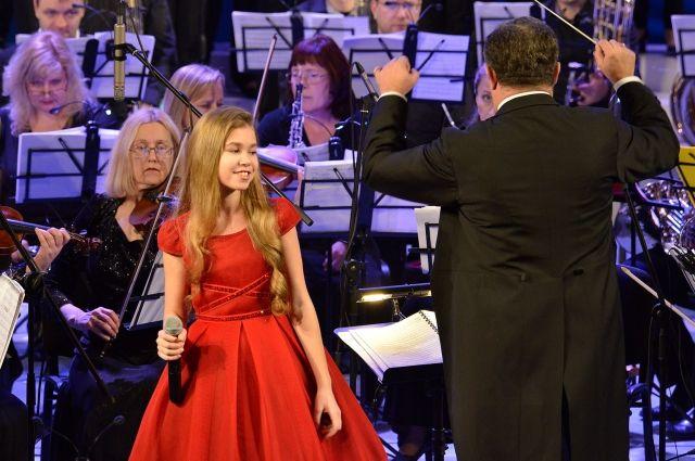Брянская эстрадная певица  Настя Гладилина может поехать надетское «Евровидение»