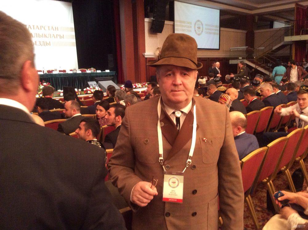 Глава национально-культурной автономии немцев Татарстана Виктор Диц.
