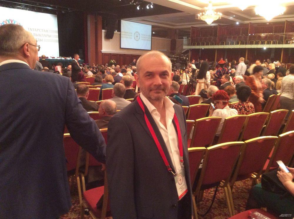 Главный режиссер Татарского театра имени Камала Фарид Бикчантаев был гостем форума.