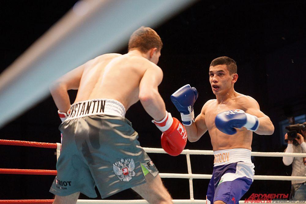 Среди участников российской команды был пермяк, чемпион России по боксу Константин Богомазов.
