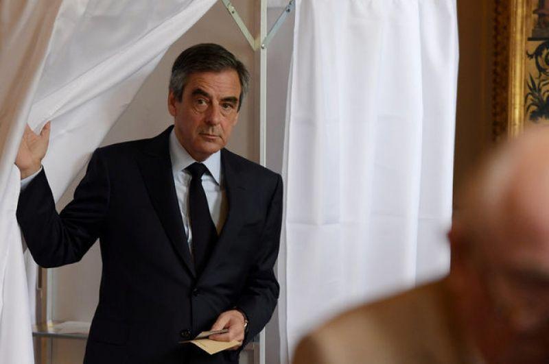 Кандидат в президенты Франции Франсуа Фийон.