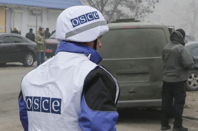 Возле Луганска подорвался автомобиль ОБСЕ