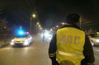 В городе несколько экипажей ДПС преследовали мотоциклиста