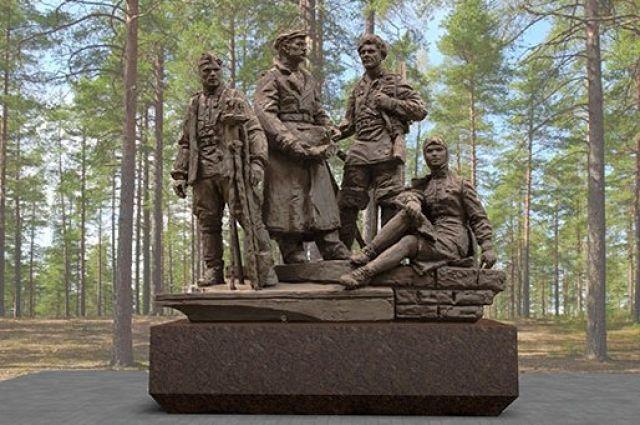 Памятник воинам-победителям, первостроителям Ангарска.