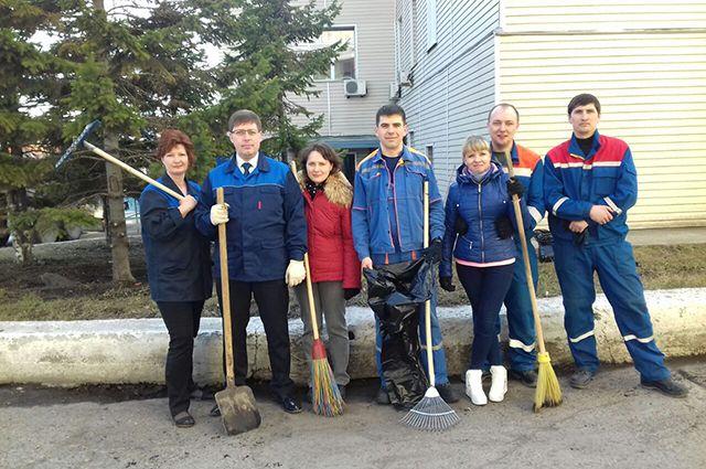 Участие в общегородских экологических акциях по уборке территории стало уже доброй традицией в «СИБЭКО»