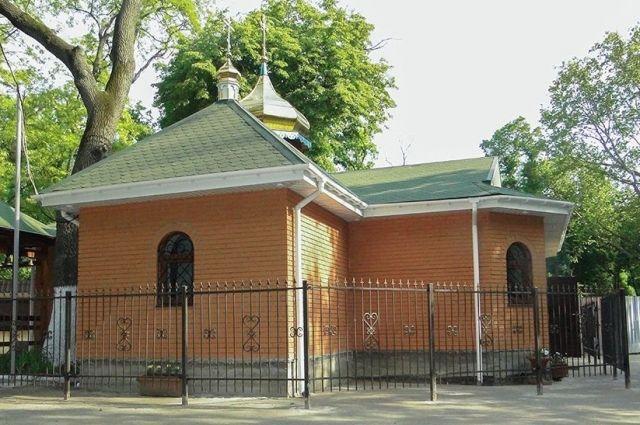 Разграбленный храм.