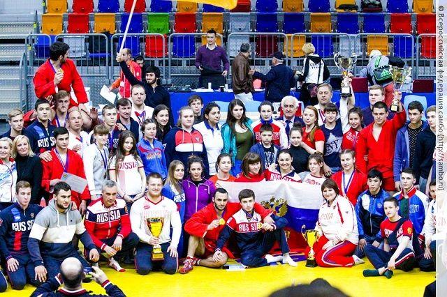 Сюорная России по самбо блестяще выступила на первенстве Европы.
